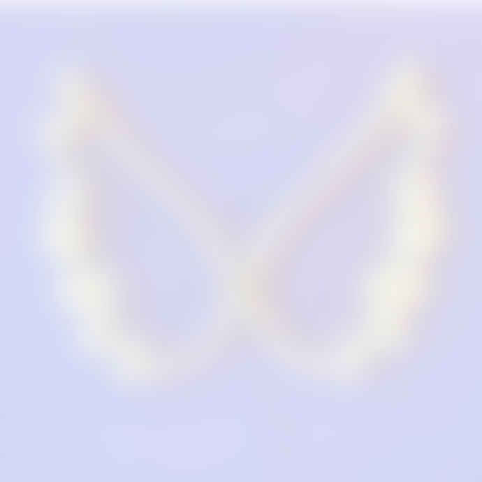 LED Angel Wings White Neon Wall Light