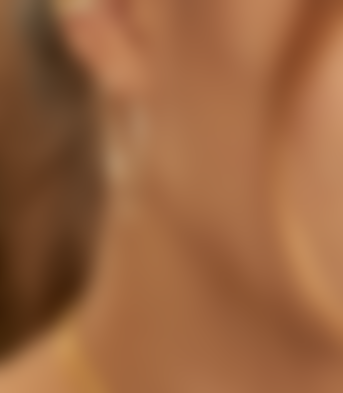 Tada & Toy Large Cosmic Star Hoop Earrings