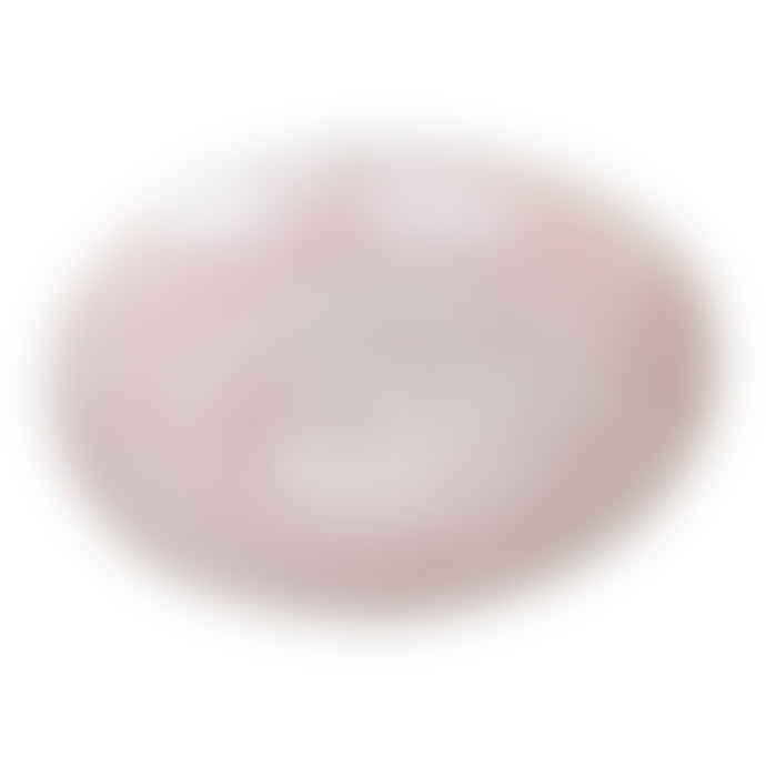 Wonki Ware  Large Bowl In A Pink Plain Wash