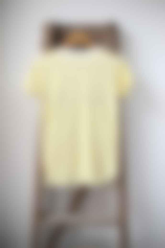 Leon & Harper Toro Palmier Yellow Stripe T Shirt