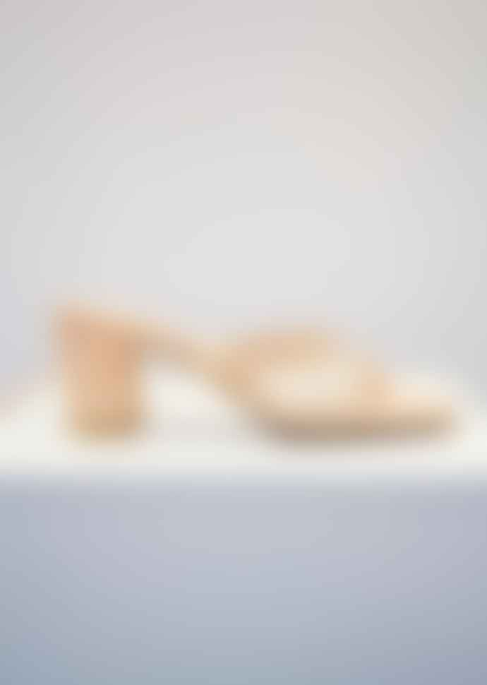 Collection & Co Chora Blush Open Toe Mule