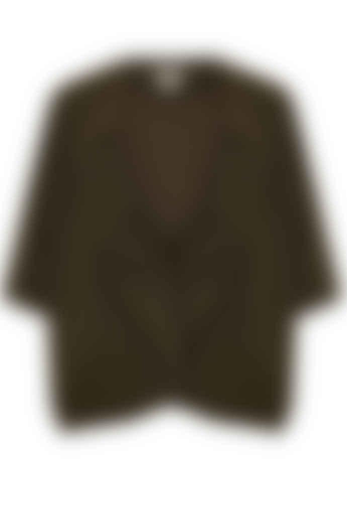 Jovonna London Khaki Charleen Oversized Jacket