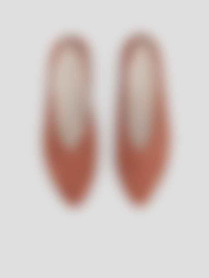Vagabond Terracotta Antonia Goat Suede Shoes