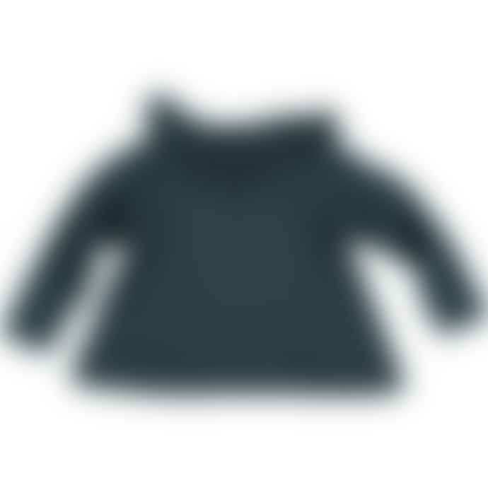 Picnik Green Jersey Top