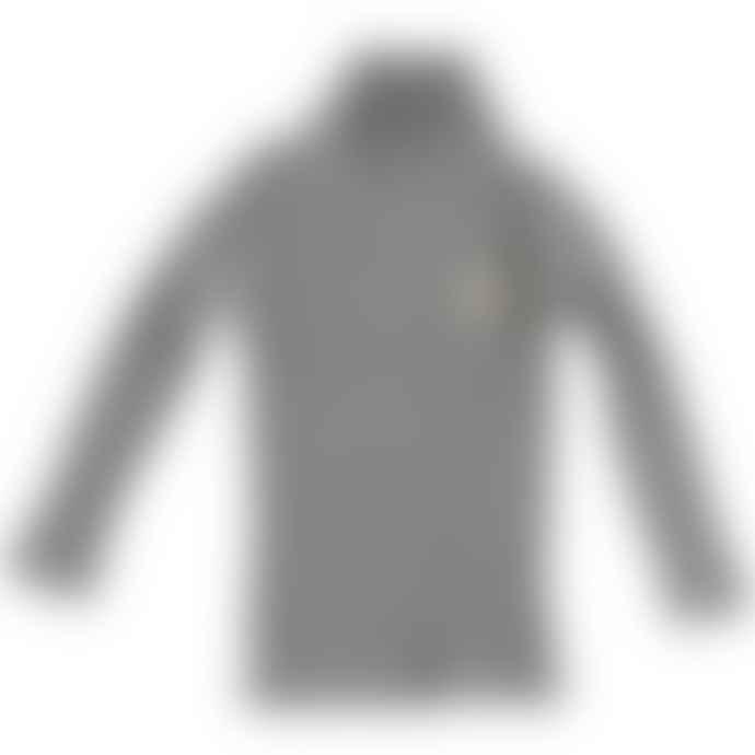 Picnik Grey Turtle Neck Top