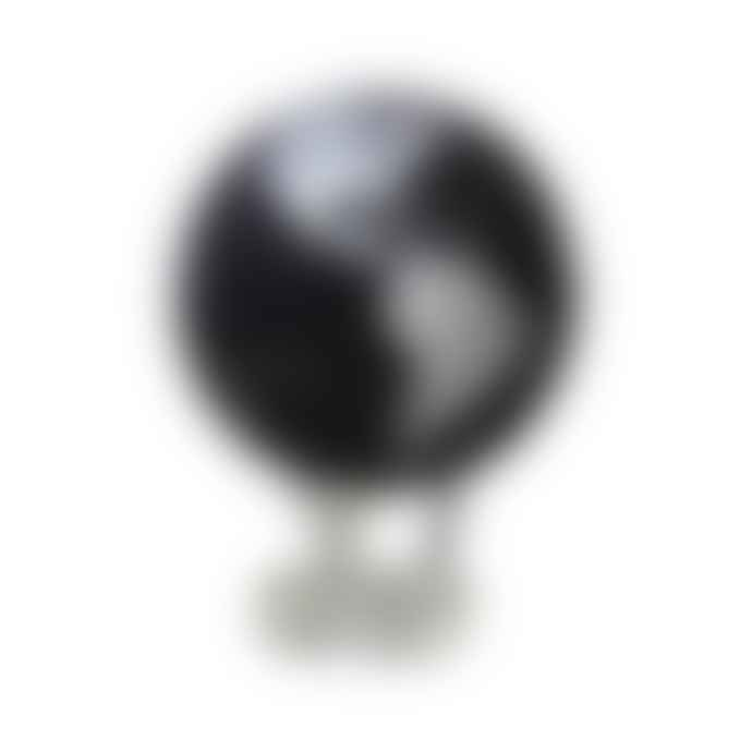 MOVA Silver and Black Metallic Globe