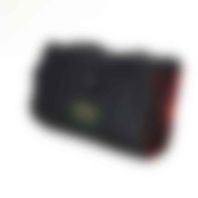 Tweedmill Royal Stewart Tartan & Black Eventer Pure New Wool Picnic Blanket