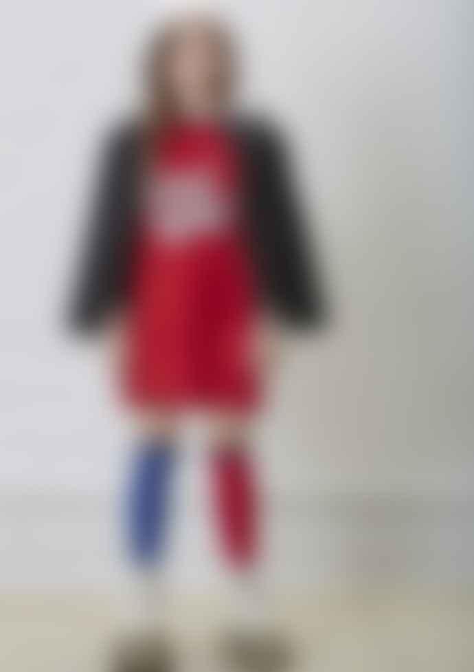 Yporque Red Good Luck Satin Dress