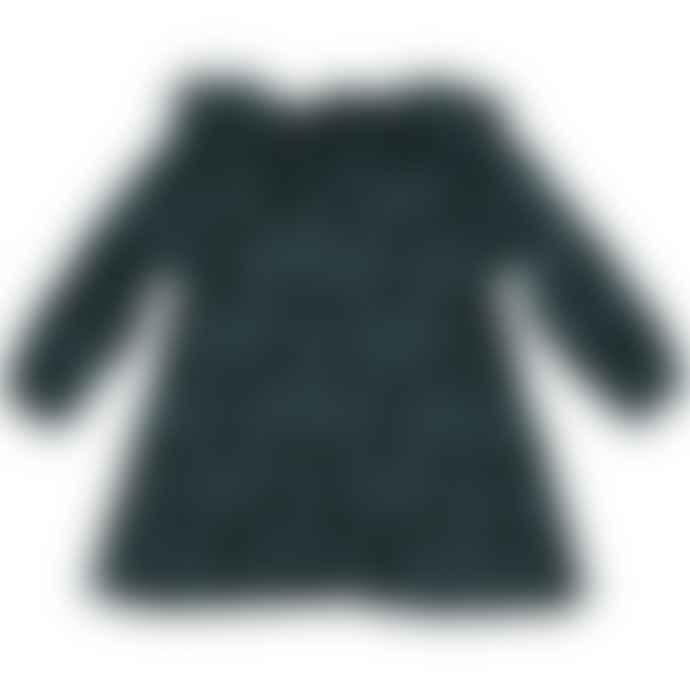 Picnik Green Penguin Ruffle Dress