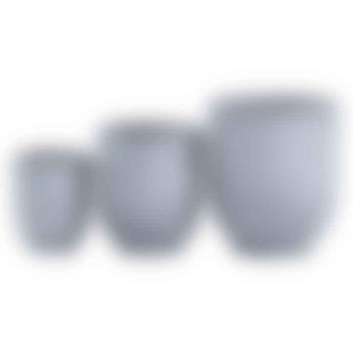 Mink Interiors Grey Concrete Planter - Large (30 x 34cm)
