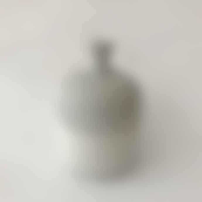 Lindform Medium Gray White Ceramic Vase