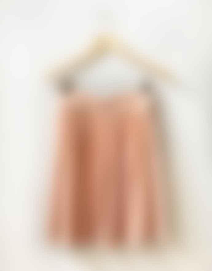 Louizon Nude Viscose Cannes Skirt