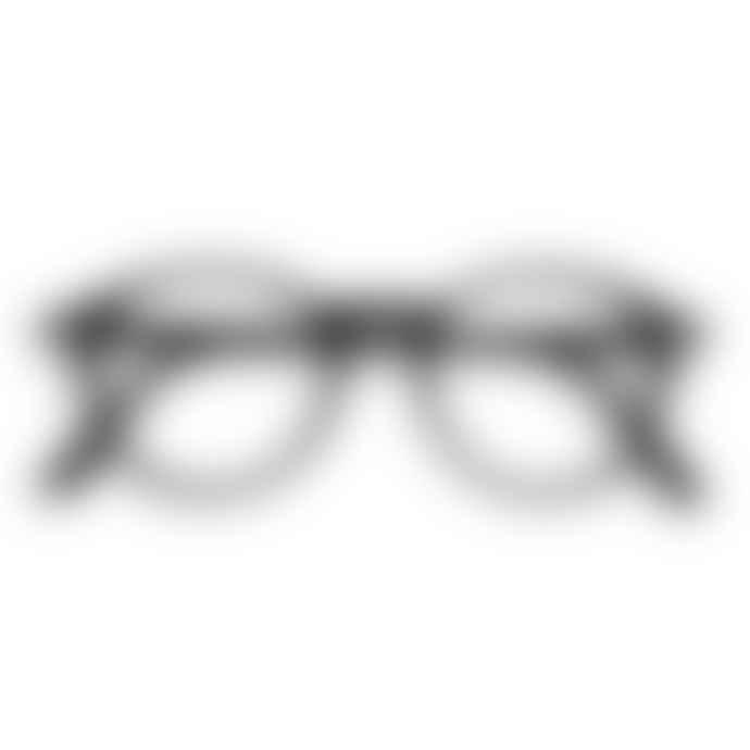 IZIPIZI Black Unisex Reading Glasses +3 #D
