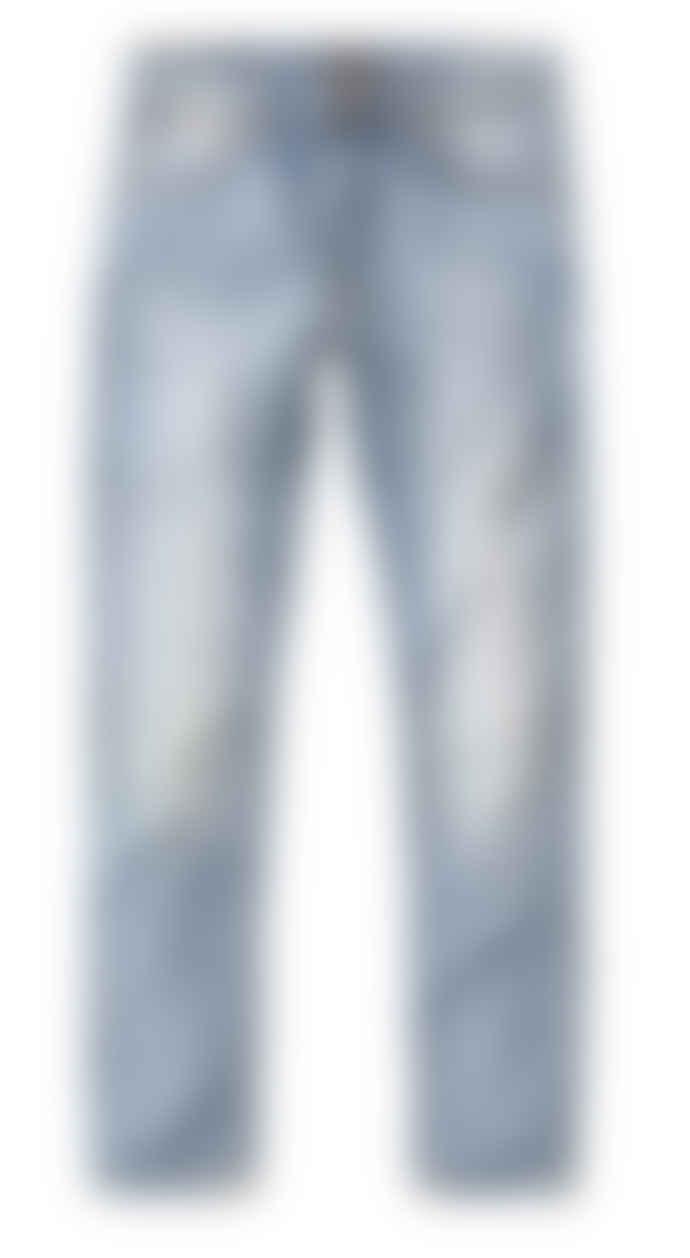 Nudie Jeans Used Cross Lean Dean Slim Fit Jeans