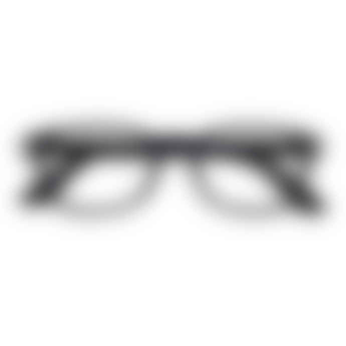 IZIPIZI Black Unisex Reading Glasses +2.5 #B