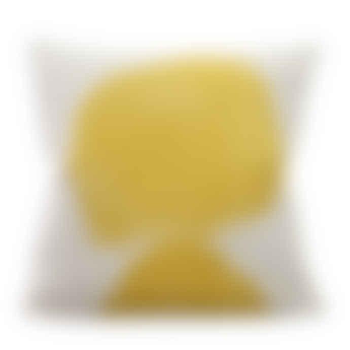 Yellow Volcano Cushion Cover