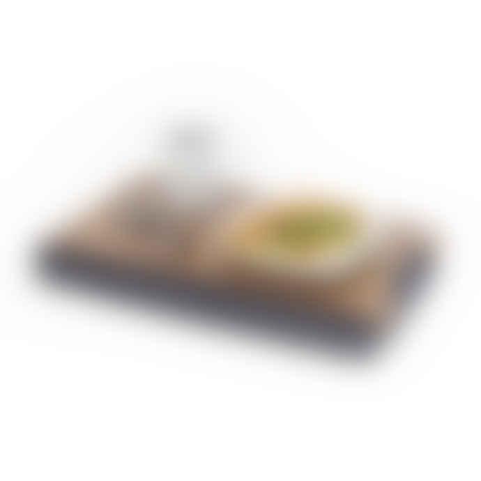 Bosign Mini Walnut Wood Antislip Lap Tray with Salt Pepper Cushion
