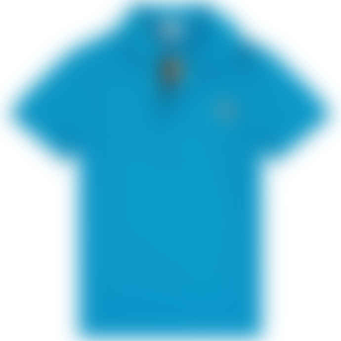 Paul Smith Junior Blue Boys Danube Ridley Per Polo Top