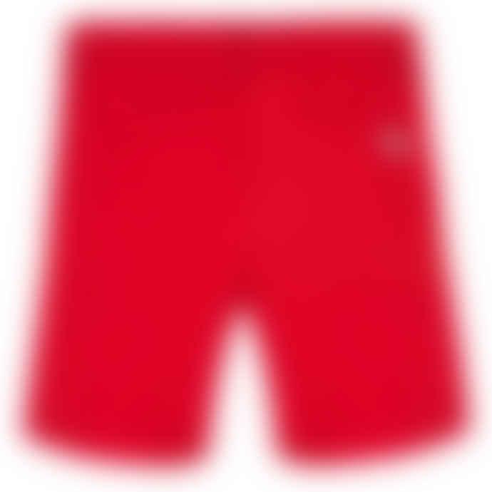 Paul Smith Junior Fiery Red Boys Cotton Tatum Bermuda Shorts