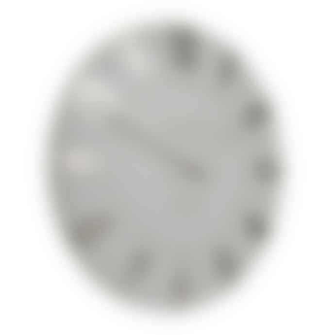 Thomas Kent 30cm Silver Cloud Mulberry Wall Clock