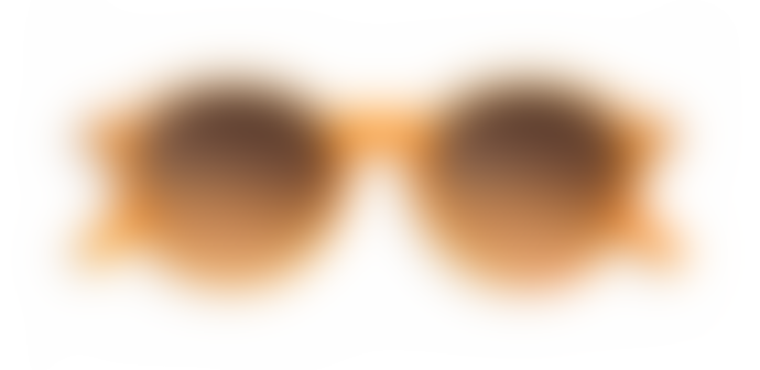 Izipizi Paris Orange Flash Brown Lenses D Shape Sunglasses