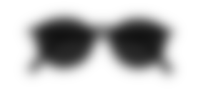 IZIPIZI Black D Shape Sunglasses
