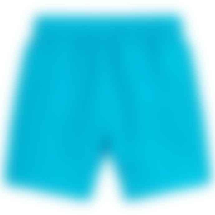 Paul Smith Junior Blue Boys Danube Titan Shark Swim Shorts