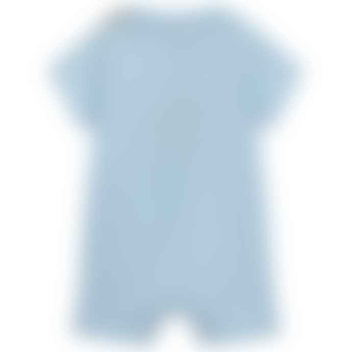 Paul Smith Junior Sky Blue Baby Boys Tewis All In One Shortie
