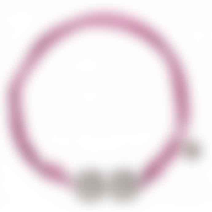 laf Small Purple Cotton Adjustable Ellas Bracelet