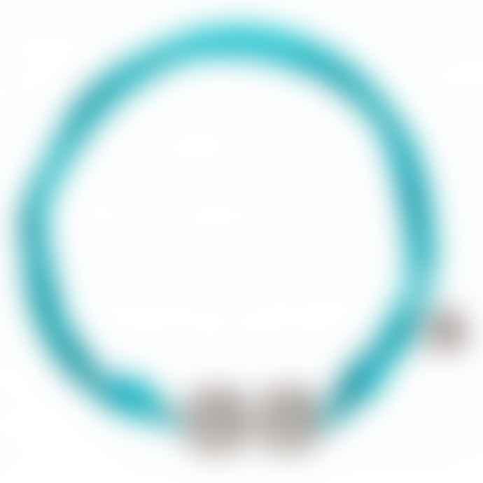 laf Small Turquoise Cotton Ellas Adjustable Bracelet