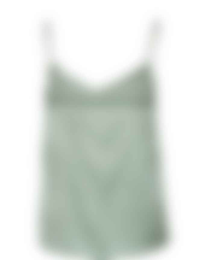 Mos Mosh Green Bay Ditte Silk Singlet