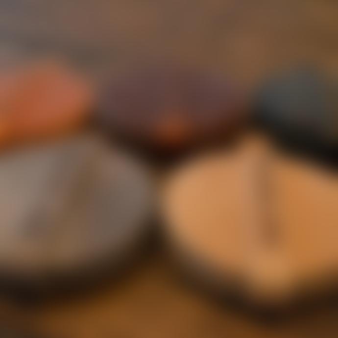 Scotts Bluf Set of 6 Genuine Leather Coasters
