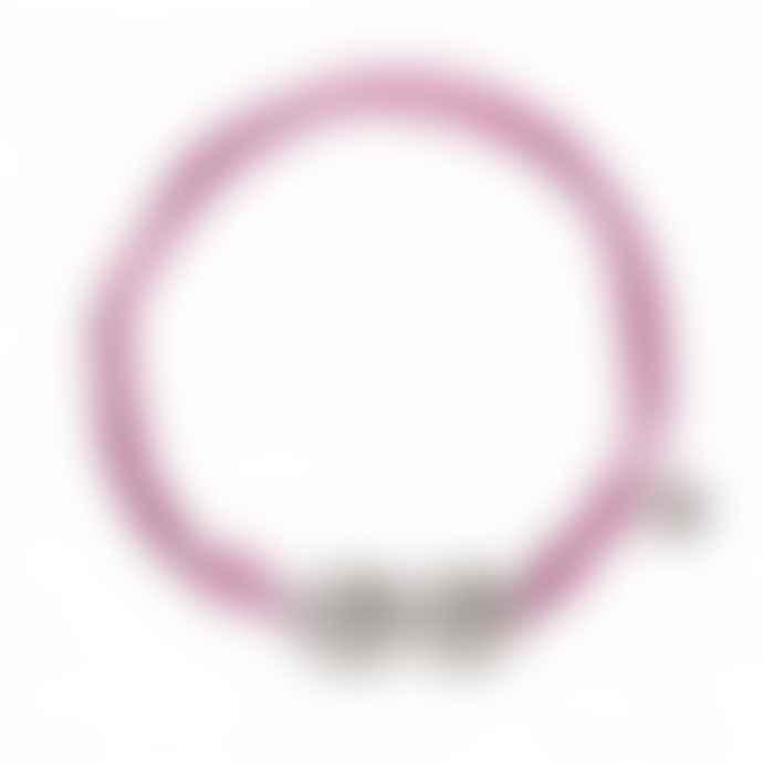 laf Small Purple Cotton Bracelet