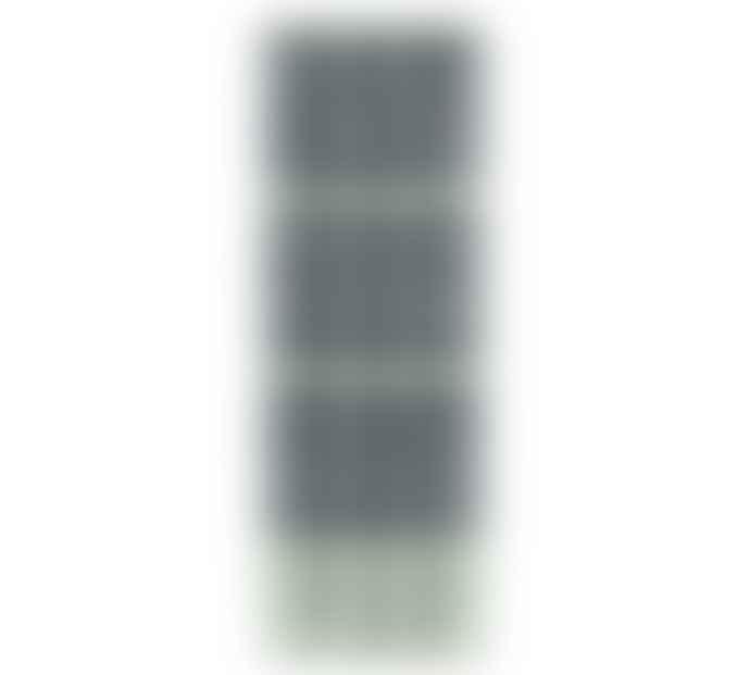 British Colour Standard Striped Opaline Indigo Candles