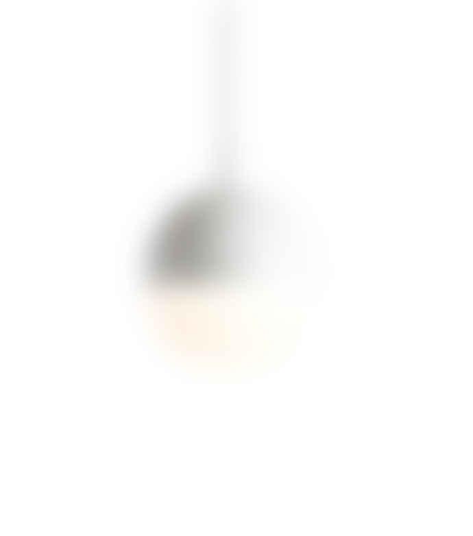 Woud Small pendant lamp perforated metal DOT