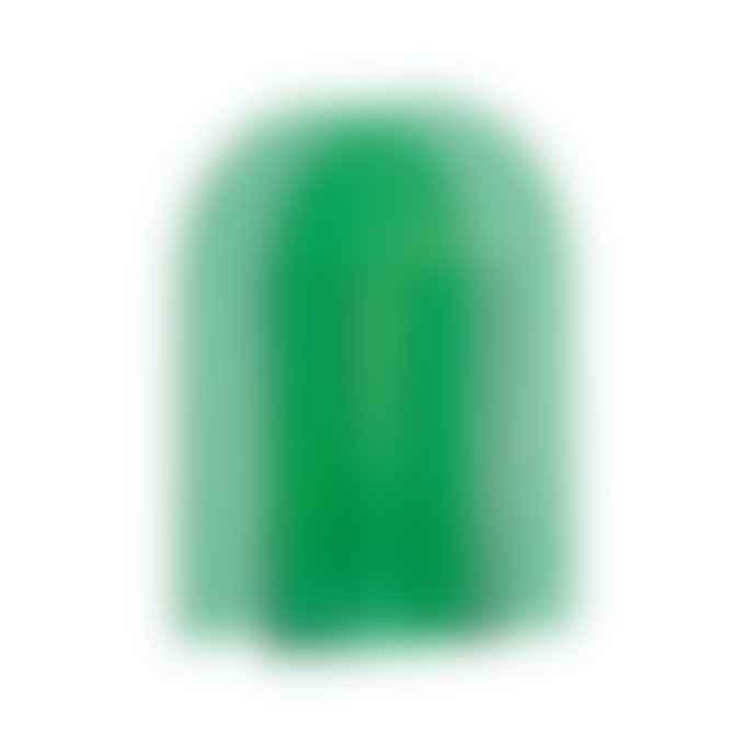 &klevering Dark Green Glass Arch Vase