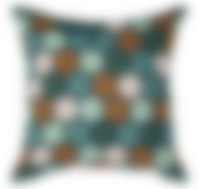 Wallace Cotton Prism Large Square Cushion Cover