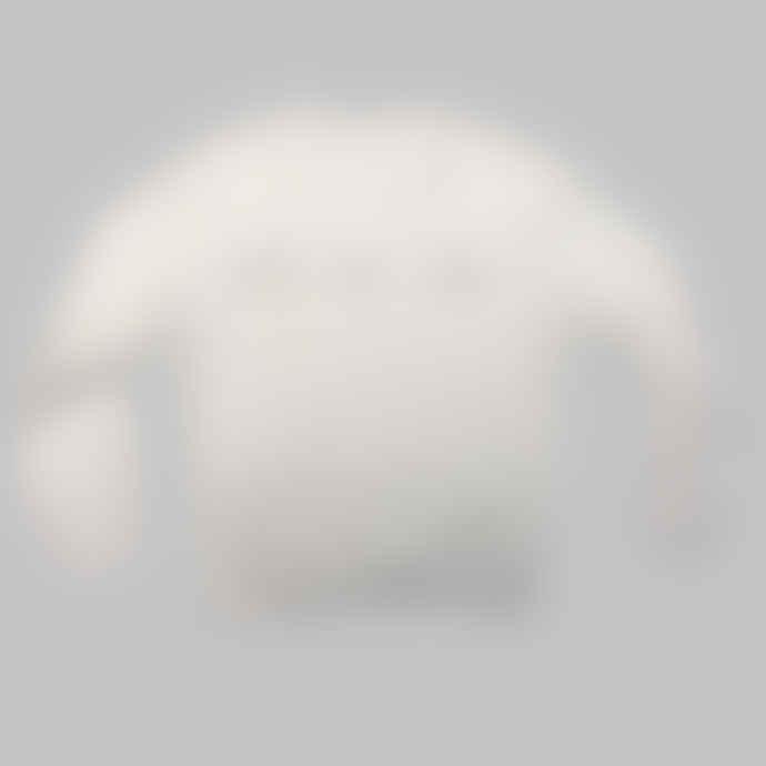 Arbol White Curioser Sweater