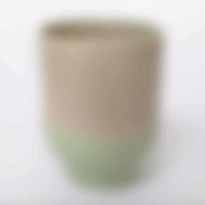 Return to Sender Mint Two Color Porcelain Espresso Cup