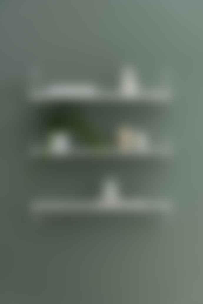 Maze Ecofriendly white coated metal wire console shelf brackets