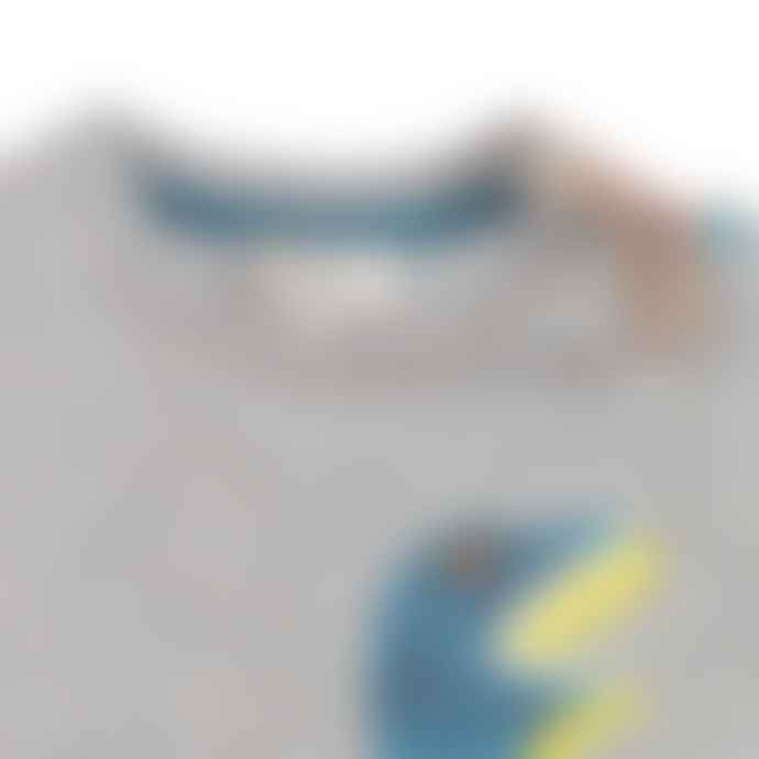 Paul Smith Junior Marl Grey Baby Boys Toufik All In One Shortie