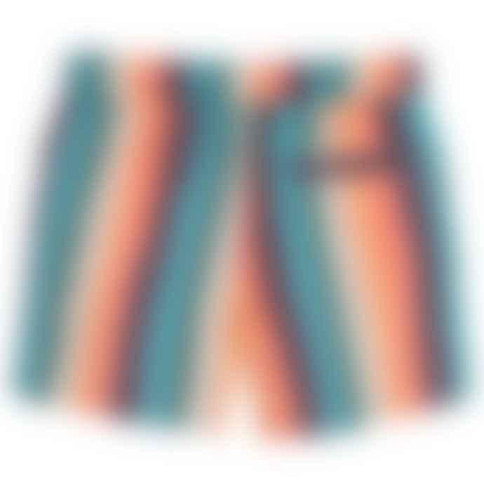Paul Smith Junior Multicoloured Striped Boys  Toshiro Swim Shorts