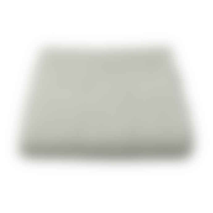 Mourne Textiles Mended Tweed Blanket - Silver Grey