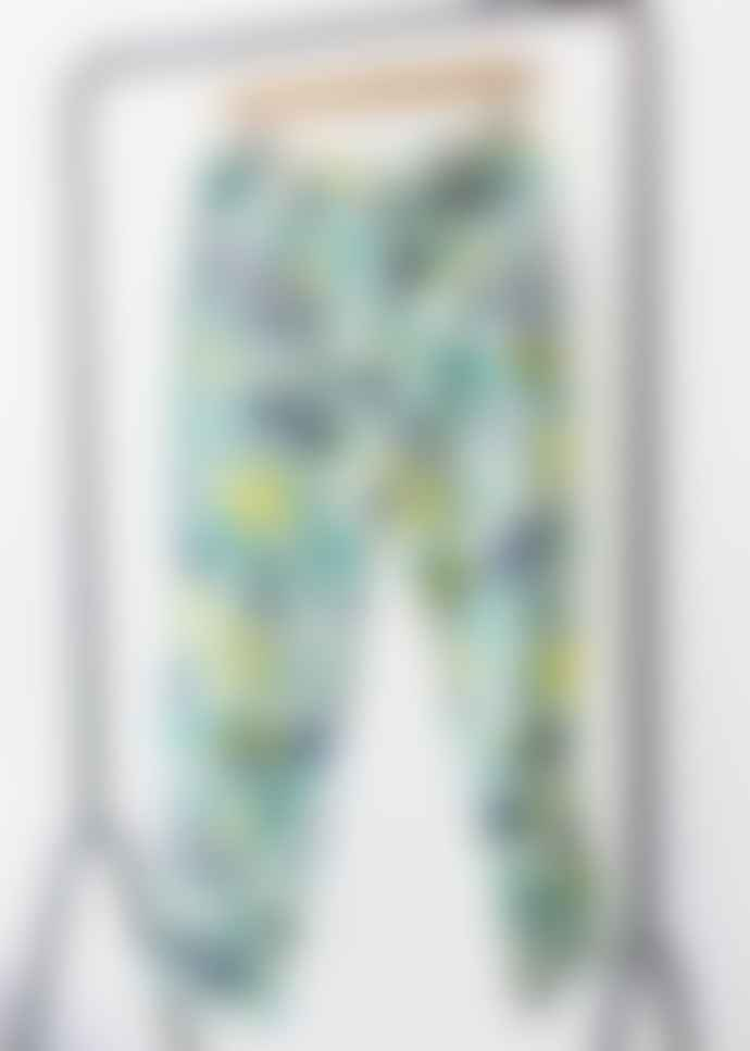 People Tree Tropical Organic Cotton 7/8 Trousers