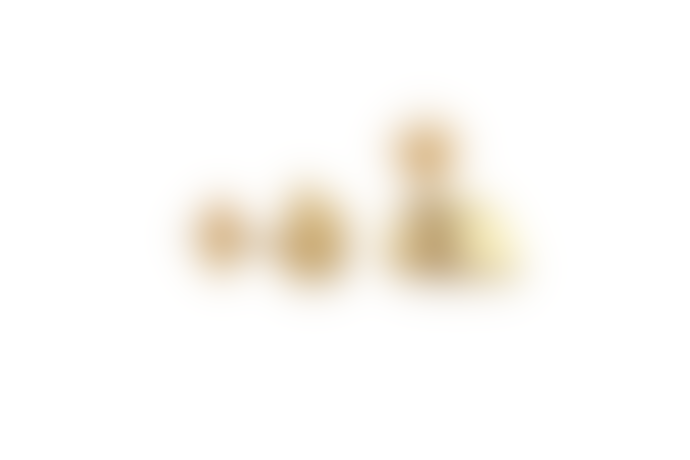 GINA MELOSI Shatteredfragments Small Studs