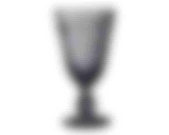 La Rochere Grey Patterned Wineglass
