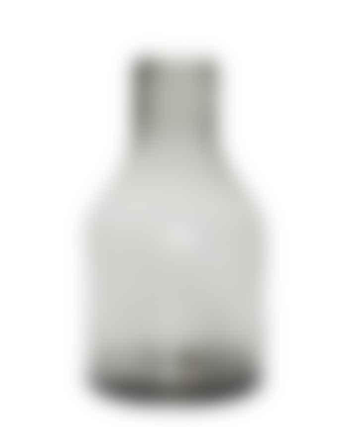 Hubsch Large Smoke Glass Vase