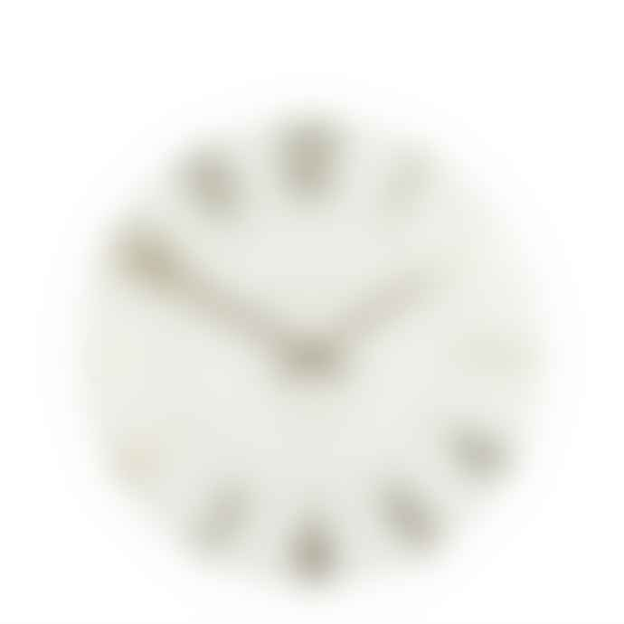 Thomas Kent 50cm Ivory Champagne Mulberry Wall Clock