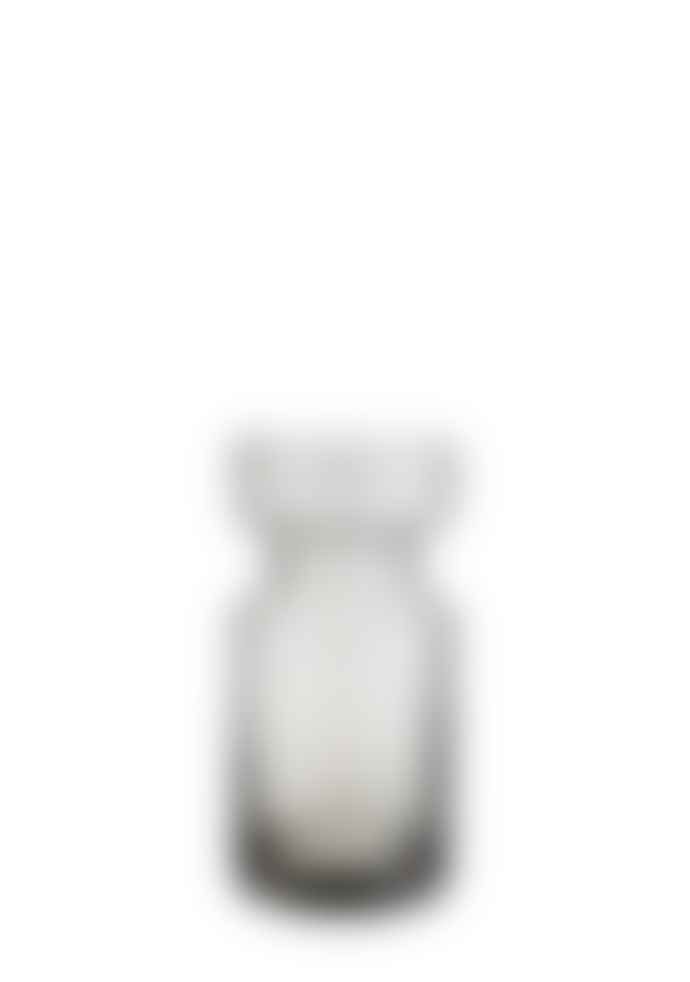 Madam Stoltz Grey Tall Glass Vase