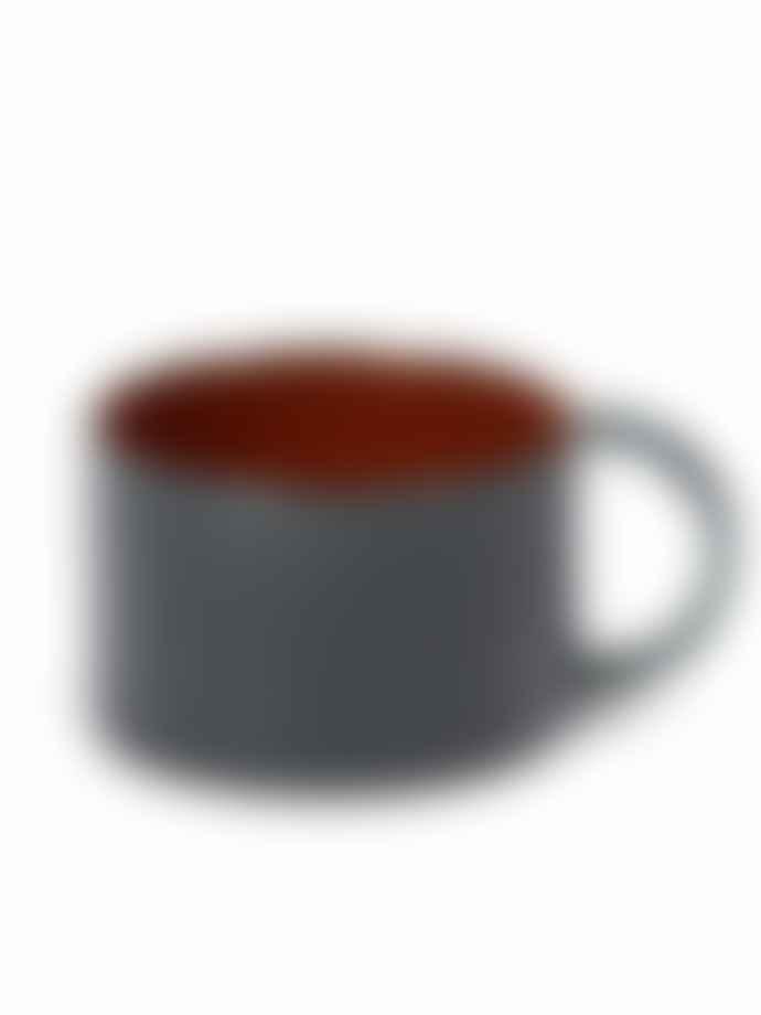 Serax Dark Blue Terres De Reves Stoneware Cup